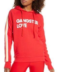 Spiritual Gangster Love raglan hoodie